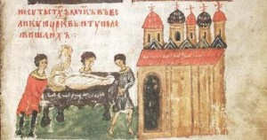 перенесение мощей Бориса и Глеба